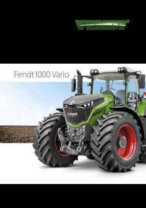 Traktory z napędem 4WD Fendt 1038 Vario