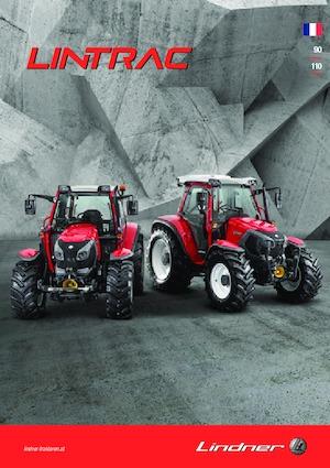 Traktory z napędem 4WD Lindner Lintrac 90