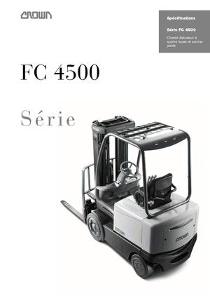 Wózki widłowe elektryczne Crown FC 4525 2.0