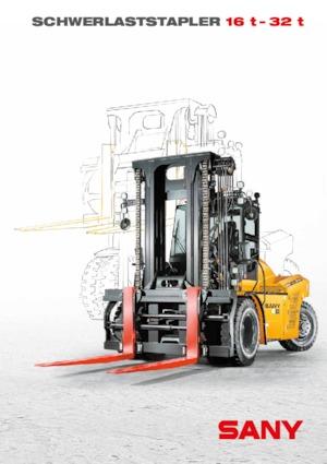 Wózki widłowe z silnikiem wysokoprężnym Sany SCP160G