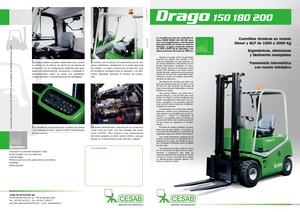 Wózki widłowe LPG Cesab Drago 150