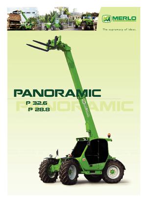 Nośniki teleskopowe Merlo Panoramic P 32.6 Top