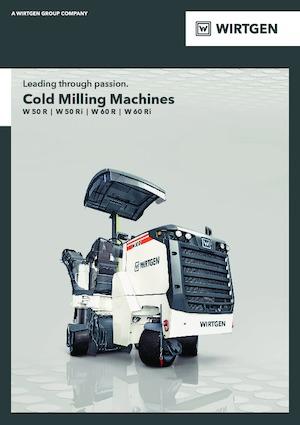 Maszyny do frezowania na zimno Wirtgen W 50 Ri