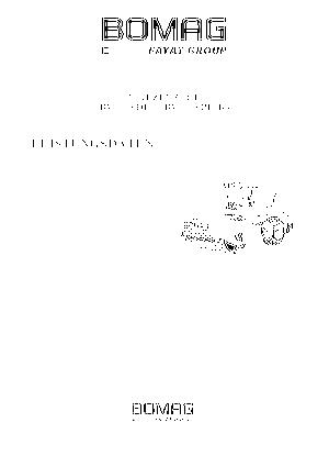 Pojedyncze walce drogowe Bomag BW 216 DH-4